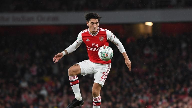 Hector Bellerin is also expected to feature against Liege