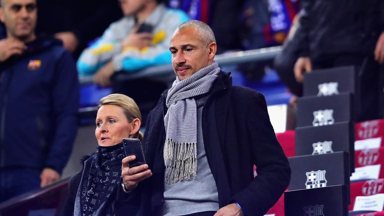 Henrik Larsson watched Southend United's win over MK Dons this afternoon