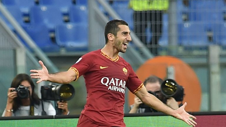 Henrikh Mkhitaryan left Arsenal to join Roma on September 2.