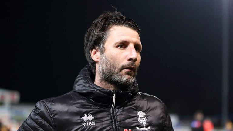 Danny Cowley named new Huddersfield Town manager