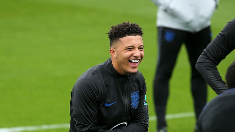 Jadon Sancho is one example of England's deep talent pool at all age groups