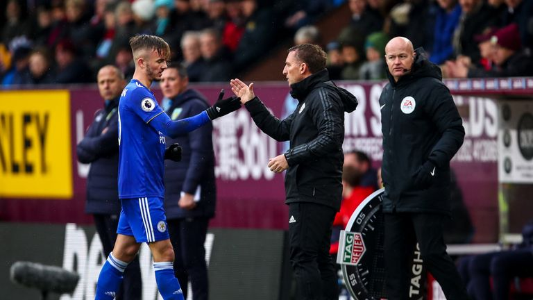 Brendan Rodgers appreciates there will be 'temptations' for Maddison