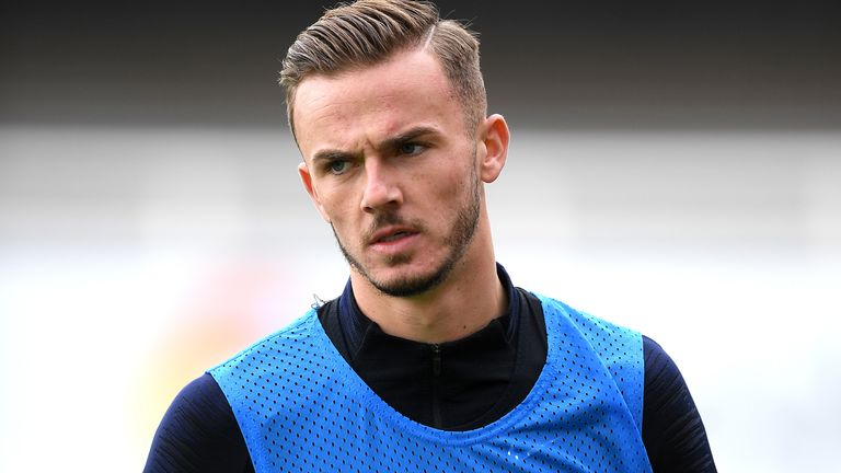 James Maddison made the cut despite last month's casino incdent