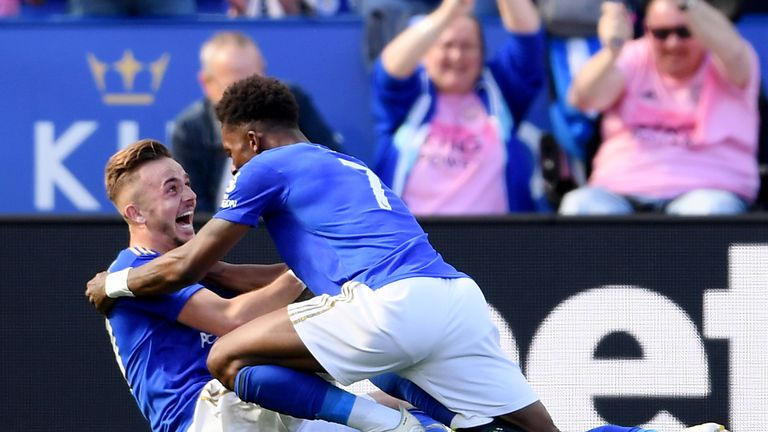 James Maddison's late strike sealed the three points for Leicester