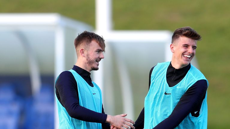 Maddison was called up to the England squad for the qualifiers against Belarus and Kosovo
