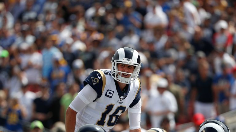Jared Goff has shown a drastic improvement after a rocky start to his career