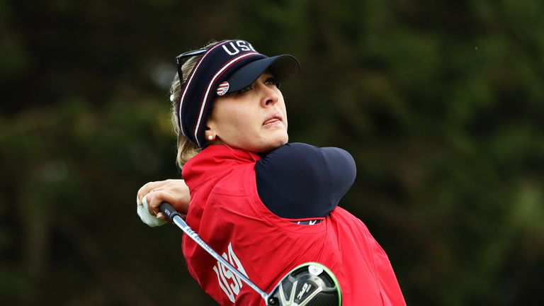 Jessica Korda has enjoyed an excellent week in Scotland