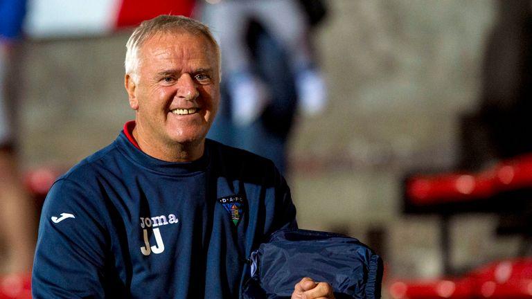 Jim Jefferies also managed Dunfermline