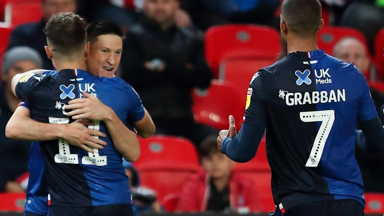 Joe Lolley scored Nottingham Forest's equaliser following Jack Butland's error