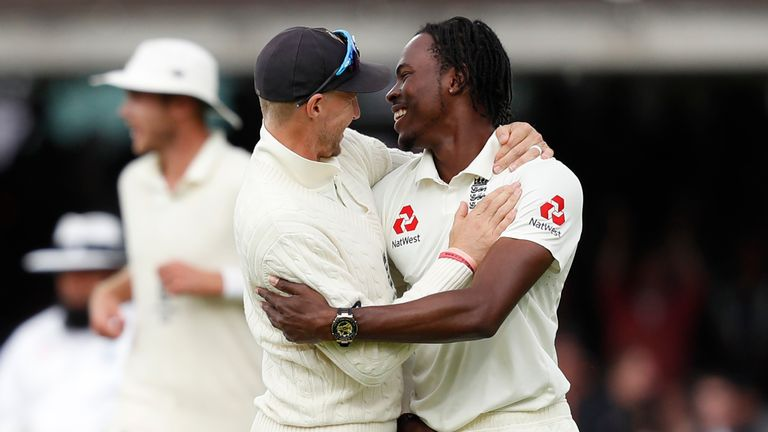 Joe Root says Jofra Archer is 'something special'