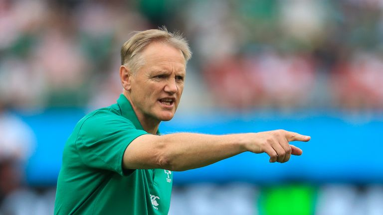 Ireland head coach Joe Schmidt will have one eye on the weather reports in  Japan this week