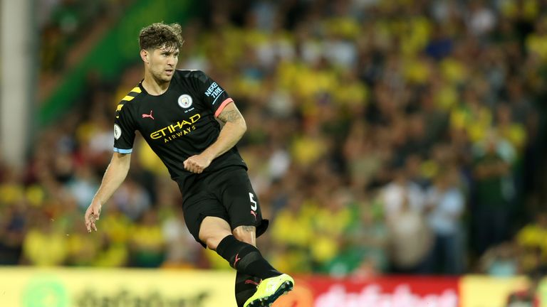 John Stones was left on the bench on Saturday as Rodri and Fernandinho started at centre-back