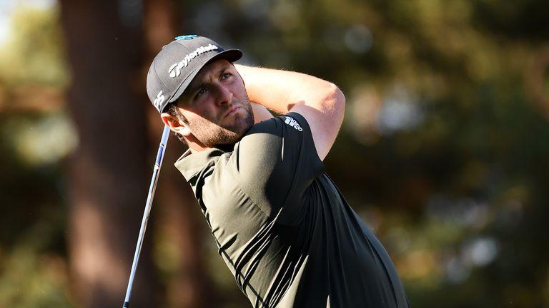 Jon Rahm during the third round of the BMW PGA Championship