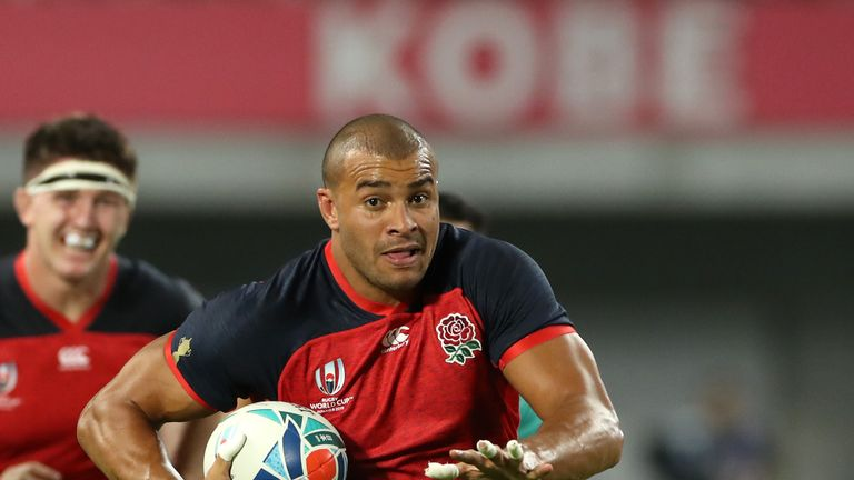 Centre Jonathan Joseph was an important creative influence for England