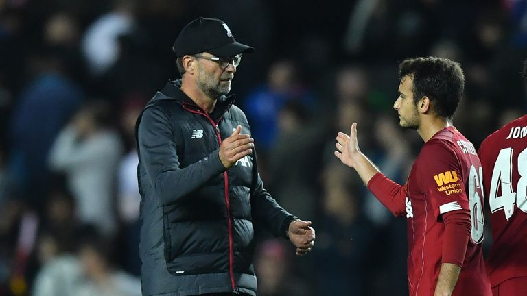 Jurgen Klopp was encouraged by the performances of his youngsters at MK Dons