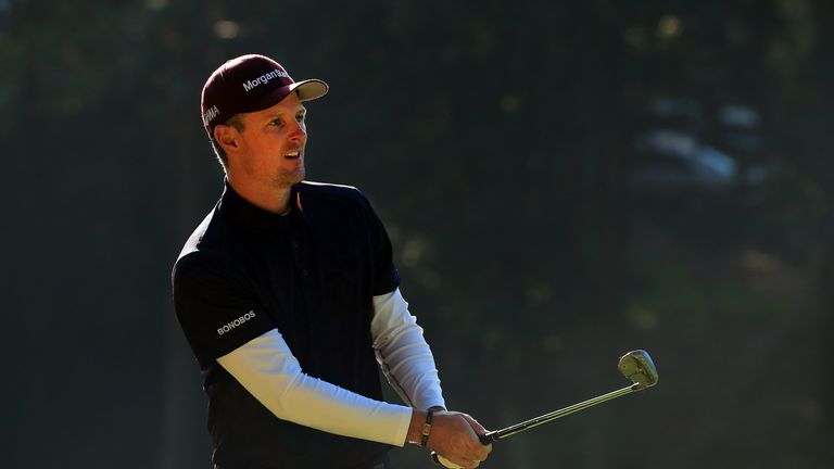 Justin Rose is another 'local' having been brought up in north Hampshire