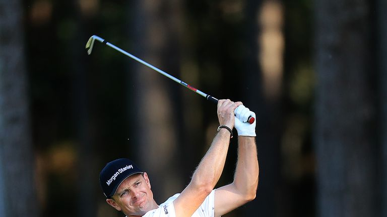 Justin Rose, like Willett and Rahm, has recorded three rounds in the 60s at Wentworth