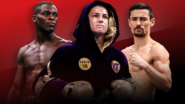 Katie Taylor headlines a stacked bill in Manchester in November