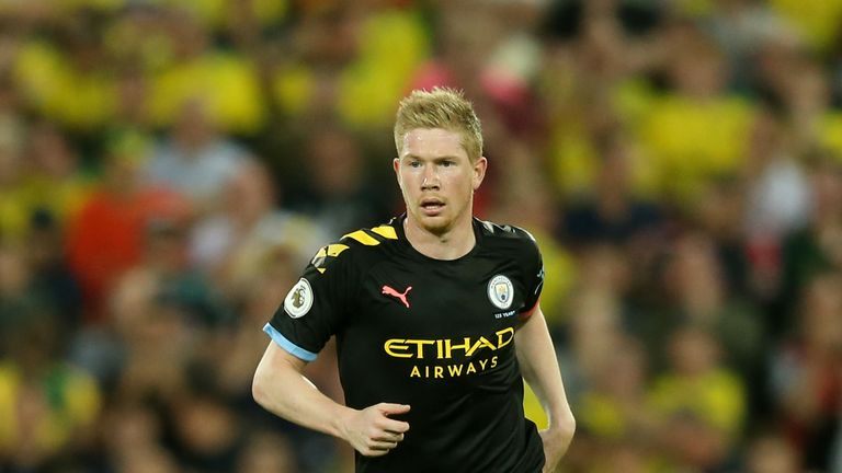Kevin De Bruyne was only a second-half substitute at Carrow Road