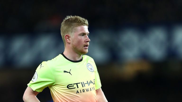 Kevin De Bruyne is relishing the match at Anfield