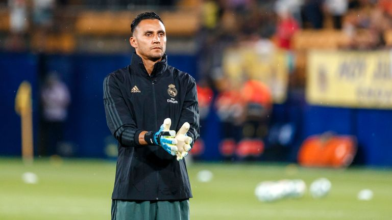 Keylor Navas has been capped 86 times by Costa Rica