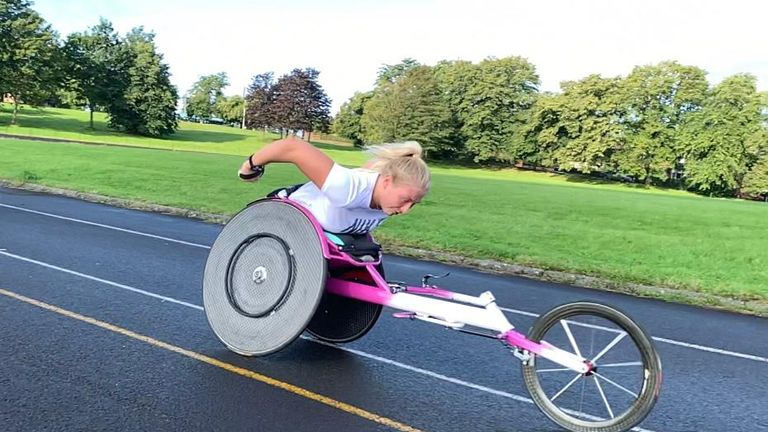 Samantha Kinghorn is looking to add to her four World medals on the track