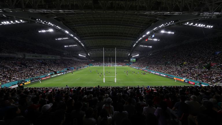 Matches could be switched to Kobe's Misaki Stadium if weather threatens the original venue