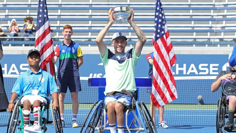 Lapthorne is currently ranked second in the world following his triumph in New York