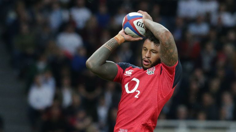 England second row Courtney Lawes makes our team this week