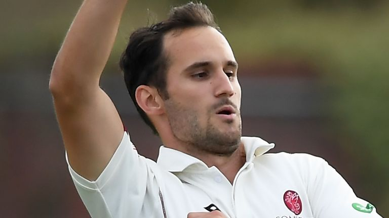 County Championship: Lewis Gregory boosts Somerset title bid against Hampshire