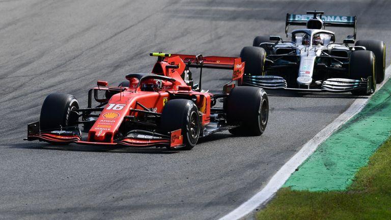 Lewis Hamilton questions Charles Leclerc Italian GP ruling