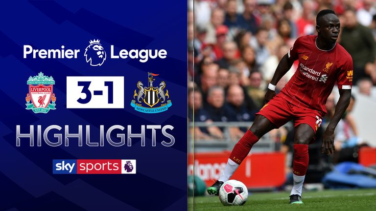 FREE TO WATCH: Highlights from Liverpool's 3-1 win over Newcastle.