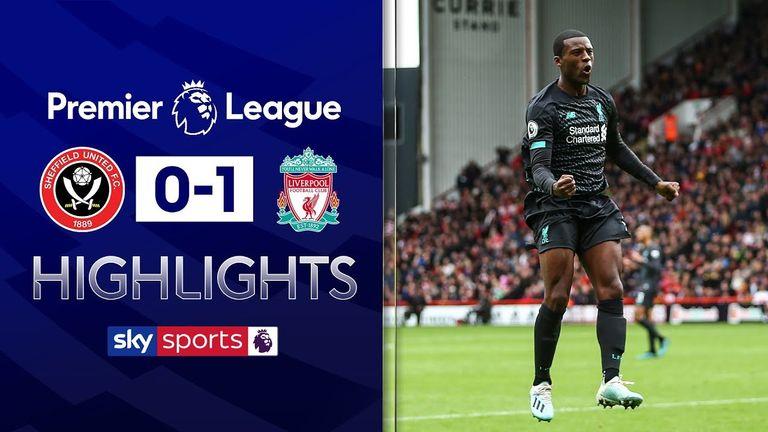 PL Highlights - Sheff Utd v Liverpool