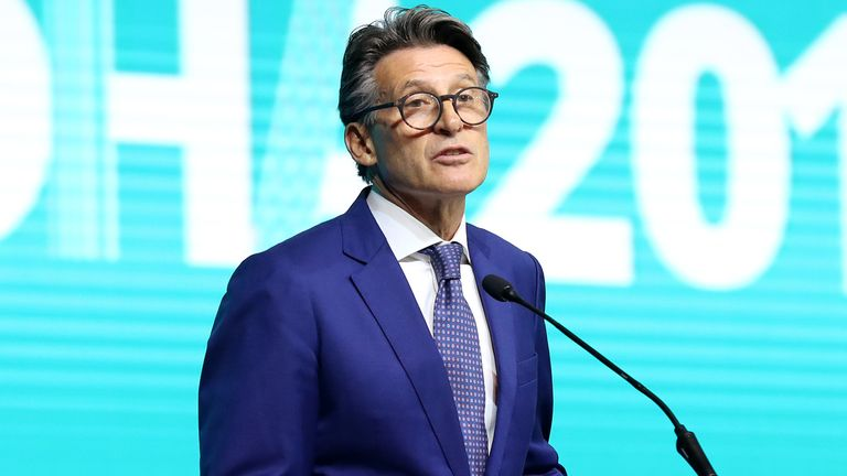 World Athletics President Lord Coe laid out the new guidelines on competition shoes