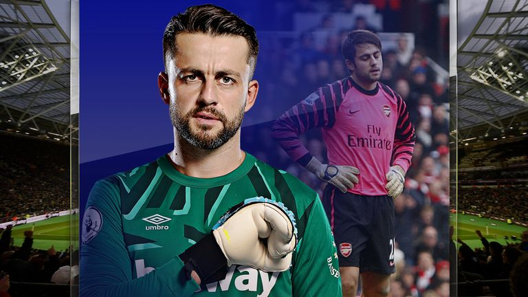 Lukasz Fabianski is in his second season at West Ham
