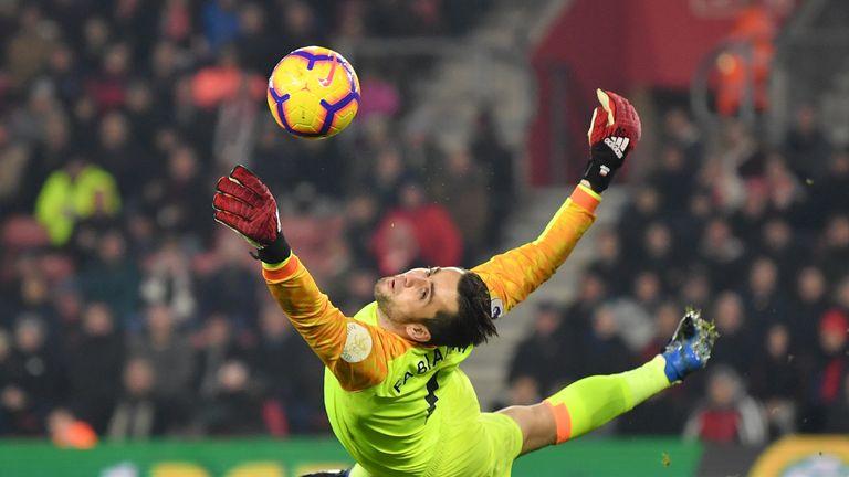 Fabianski is expected to start against Aston Villa on Monday Night Football