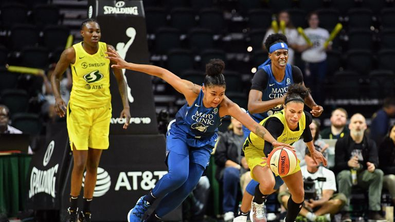 Playoff Time for WNBA's Seattle Storm