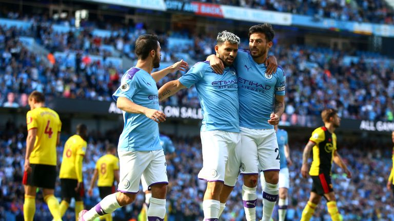 Man City registered their biggest-ever victory in top-flight history