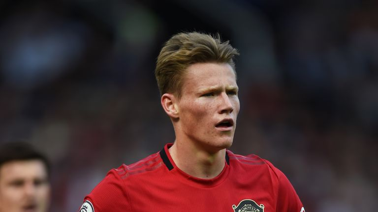 McTominay del Manchester United