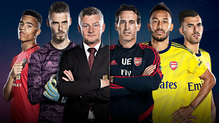 Manchester United and Arsenal meet on Monday Night Football