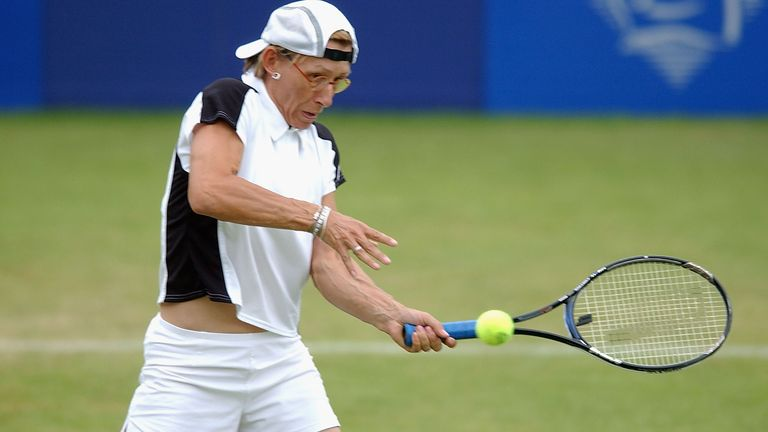 Martina Navratilova is a previous winner of the tournament held in Birmingham