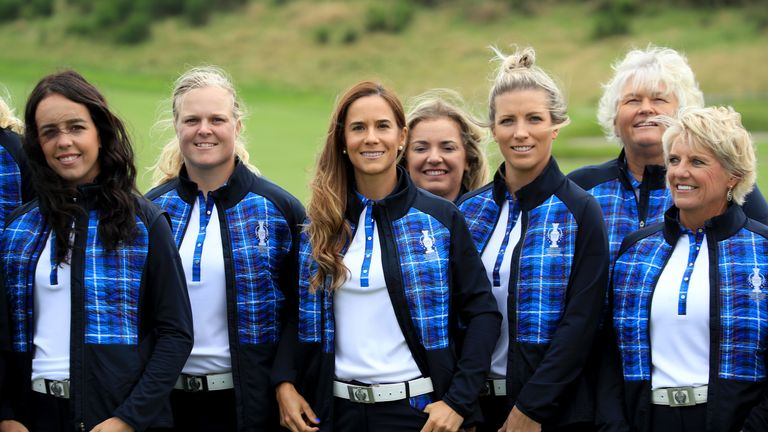 Mel Reid was a vice-captain for Europe at the Solheim Cup
