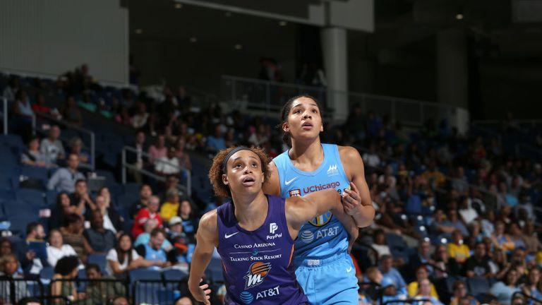 WNBA Phoenix Mercury Chicago Sky