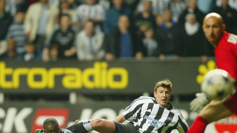 Michael Bridges had a spell at Newcastle in 2004 and played with Michael Owen at England youth level