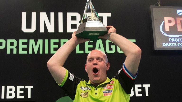 Michael van Gerwen defeated Rob Cross in the 2019 final