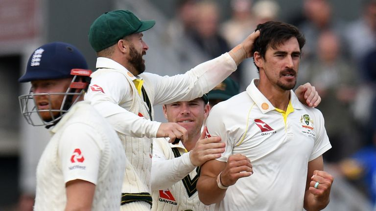 Ashes 2019: Australia need four wickets to retain urn as England battle at Old Trafford