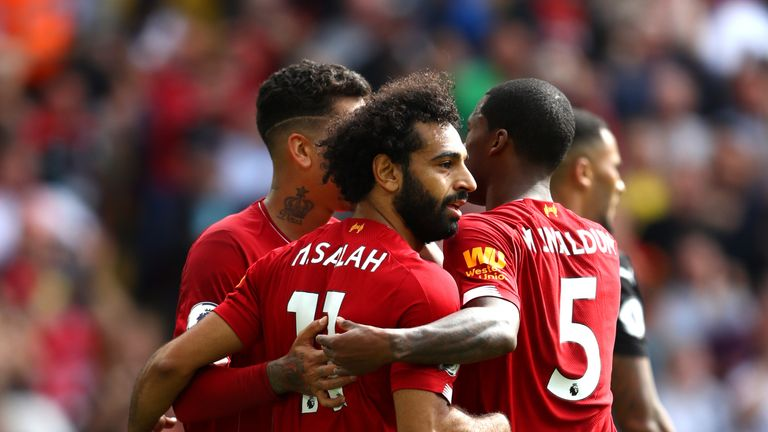 Salah missed Liverpool's last clash with Manchester United due to injury