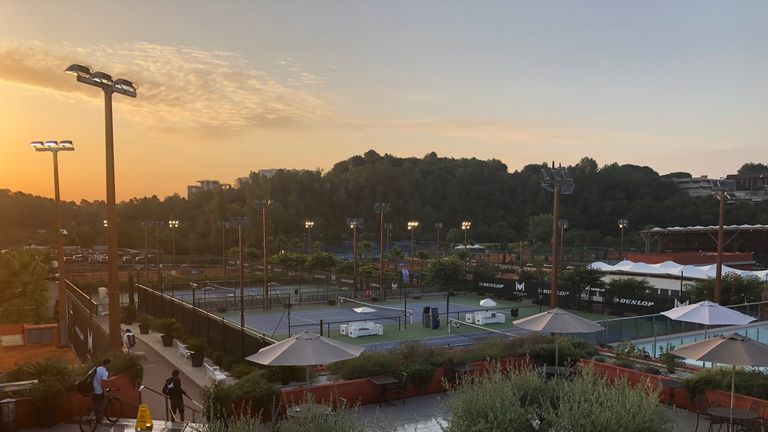 The Mouratoglou Academy is the largest tennis academy in Europe