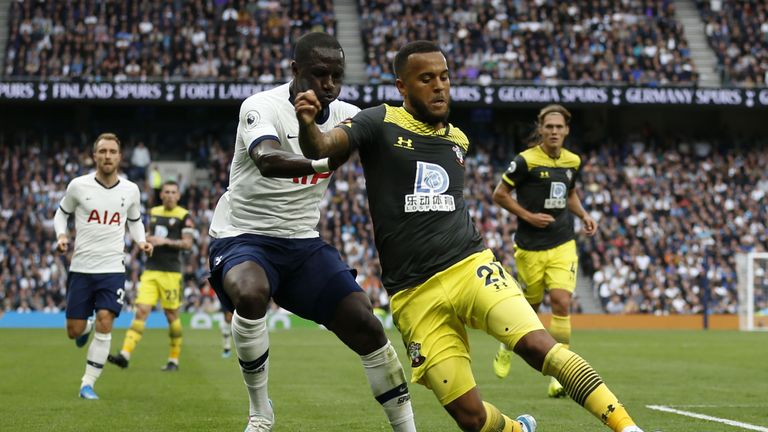 Moussa Sissoko filled in at full-back and put in a majestic showing