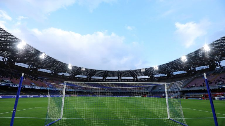 The San Paolo stadium has undergone renovation works over the summer